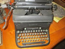 Vintage L.C. Smith & Corona Super Speed Typewriter Black