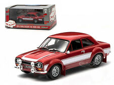 1974 FORD ESCORT RS 2000 MKI RED 1/43 DIECAST CAR MODEL BY GREENLIGHT 86066