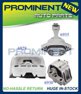Motor Mount 3PCS Replacement for 98-06 Volkswagen Beetle Golf Jetta 1.8L 2.0L