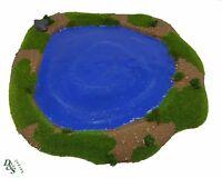 Wargames Scenery Terrain Resin Pond 1 Bolt Action Warhammer 40K