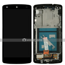 White LG Google Nexus 5 D820 D821 LCD Display Touch Digitizer Assembly W/Frame