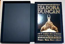 BOOK LIBRO WL 272 - * FRANCO MARIA RICCI / ISADORA DUNCAN *-I SEGNI DELL'UOMO 23