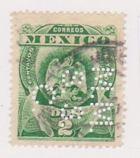 (MCO-122) 1910 Mexico 2c green perfed MMSSC (A)