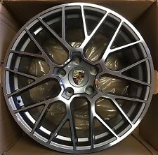 20 PORSCHE CAYENNE GTS PANAMERA 2017 HYBRID WHEELS RIMS OEM SET 4 GERMANY