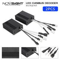 2x H7 LED AUTO FARI Decoder Resistor Canbus Errore Libero Resistenza Canceller