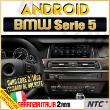 "AUTORADIO 10"" Android 4-Core BMW Serie 5, F10 F11 GT 520D 2009-2017 Navigatore /"