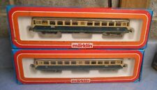 Marklin Germany HO 3028 & 4028 Railbus Set In Original Boxes (MH)