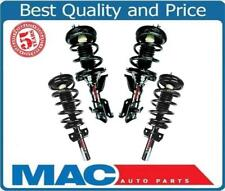 2001-2002 Honda Civic (4) Front & Rear Quick Spring Strut and Mount New