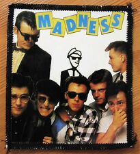 Madness vintage Uk Ska revival patch Original early 80's 2Tone Nutty Boys