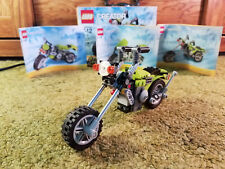 Lego Creator 31018 Highway Cruiser Motorcycle 3-in-1 Creator 100% Complete