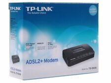 2 PEZZI TP-LINK td-8616 ADSL 2+ modem Bridge