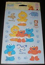 NEW SESAME STREET BABY STICKERS SCRAPBOOK SEASAME STREET STICKER SHEETS