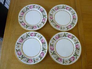 4 Royal Worcester Royal Garden Dinner Plates