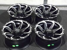 "CAN AM MAVERICK 800/1000 14"" QUADBOSS FURY ATV WHEELS SET 4 LIFE WARRANTY 526"
