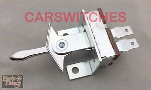 1970-1972 Chevrolet CHEVELLE EL CAMINO HEATER SWITCH W/out Air Condition 3963743