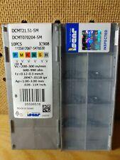 Iscar DCMT070204-SM 21.51 IC908 carbide inserts 10 pcs