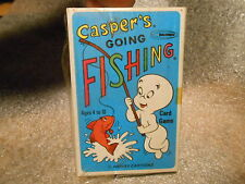 Vintage 1960s Warren Casper's Ghost Gone Fishing  Card Game in Sealed Box