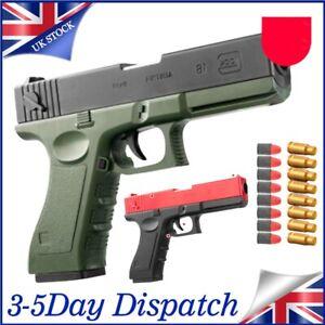 Kids Toy Gun Gel Ball Shooter Blaster Pistol Soft Water Beads Mag Feed UK SALE!!