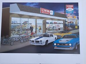 "David Snyder ""It's Fun"" Schwinn Bicycles Dealership Trans Am Mustang 1971 Dave"