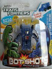 Transformers Bot Shots Super Bot 004 Optimus Prime  Clear Transparent Variant
