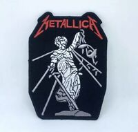 Metallica American Heavy Metal Band Iron on Sew on Embroidered Patch