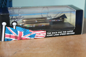 LLEDO THRUST SSC 1997 GOLD VERSION - Signed by Richard Noble & Ron Ayres