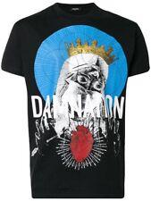 DSQUARED2 Damnation Cotton-Jersey T-Shirt Black Size XL Neuwertig