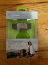 Whistle GPS Pet Tracker With Docking Station And Charging Cable