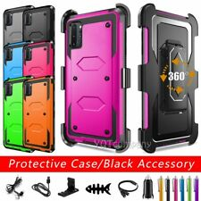 For Samsung Galaxy Note 10/Note 10+ Hybrid Hard Belt Clip Shockproof Case Cover