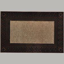 Schmutzfangmatte 45 x 68 cm Abtreter Fußmatte Türmatte ELEGANZE CARPET BRONZE