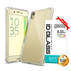 [FREE] Tempered Glass   Ringke [FUSION] Clear Case for Sony Xperia X Performance