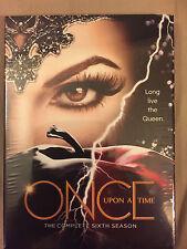 Once Upon a Time Season 6(DVD, 2017,5-Disc Set)