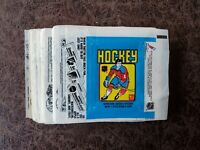 1979-80 TOPPS HOCKEY WAX PACK WRAPPER WAYNE GRETZKY ROOKIE YEAR - QTY AVAILABLE
