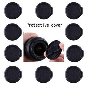 50pcs 40.5mm Plastic Snap on Front Lens Cap Cover for Nikon Canon Sony Fujifilm