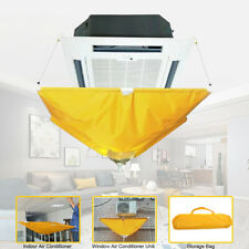 Home Hanging Air Conditioner Cleaning Dust Washing Cover Waterproof Protector