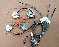 Upgraded Wiring Harness for Les Paul - Switchcraft - CTS - Orange Drop Caps