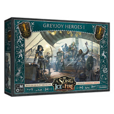 a Song of Ice & Fire Tabletop Miniatures Game Greyjoy Heroes 1