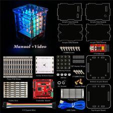Keyestudio 4X4X4 64 RGB LED Light Cube 3D DIY Kit Electronic Suite for arduino