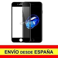 Cristal Templado 3D 5D IPHONE 7 PLUS / IPHONE 8 PLUS Protector CURVO NEGRO a3804