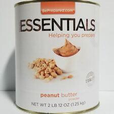 Emergency Essentials Freeze Dried Food Peanut Butter Powder #10 Can