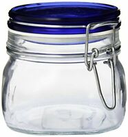 87-1//4-Ounce Set of Two Bormioli Rocco Rolly Jug with Ice Container and Red Lid