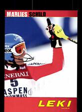 Marlies Schild Autogrammkarte Original Signiert Ski Alpine + A 162657