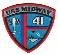 CV-41 USS Midway Patch