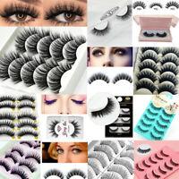 Women Makeup Natural Thick False Eyelashes Long Handmade Eye Lashes Extension
