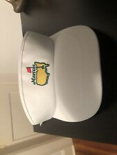 VTG White Masters Golf Visor Hat Deadstock W/ Tags American Needle Made In USA