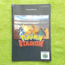 N64 - Pokemon Stadium Instrucciones Manual Manual Folleto