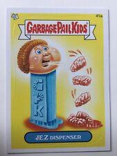 Garbage Pail Kids Topps Sticker 2012 Brand New Series 1 Jez Dispenser 41a