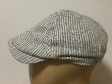 Wigens Grey Flat / Driver Cap - Sz 59 cm - Linen-Cotton blend