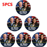 5x Joe Biden Kamala Harris For President 2020 Blue 2.25 Inch Pinback Button Pin