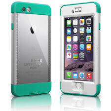 NEW LifeProof Nuud Series Waterproof Case for iPhone 6 - White/Teal